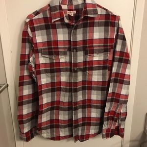Men's red flannel